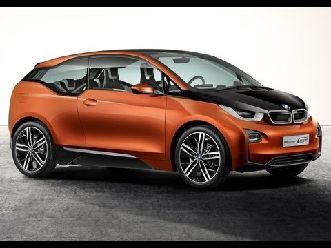 BMW i3 Electric Car - Safe zero emission