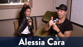 Backstage with Alessia Cara!