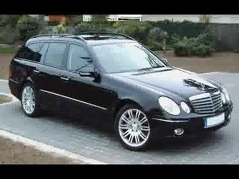 2006 mercedes benz e class w211 estate youtube. Black Bedroom Furniture Sets. Home Design Ideas