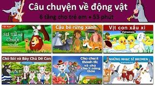 Câu chuyện về động vật - Sư Tử và Chuột - Cậu bé rừng xanh - Vịt con xấu xí