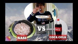 EXPERIMENT Masak nasi dengan coca cola mantul