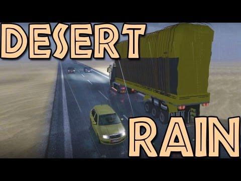 Desert Rain - Euro Truck Simulator 2 (Research Profile)