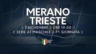 Serie A1M [7^]: Merano - Trieste 31-24