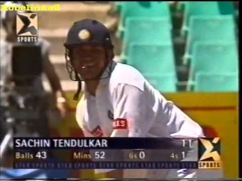Awesome battle between Tendulkar & Allan Donald