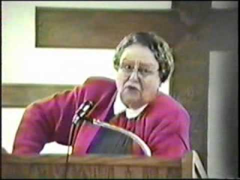 Br. Clyde and Sis. Lucille Dawson singing and preaching