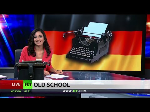 Germany believes typewriters can defeat the NSA