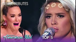 Laci Kaye Booth: Has Katy Perry SOBBING With Touching Moment | American Idol 2019