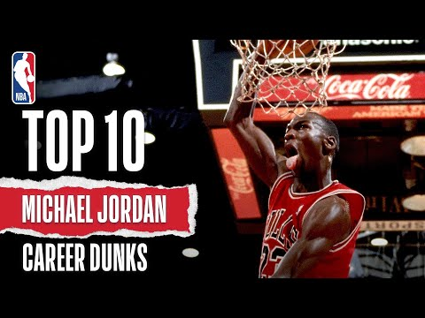 Michael Jordan's Top 10 Plays: Career Dunks
