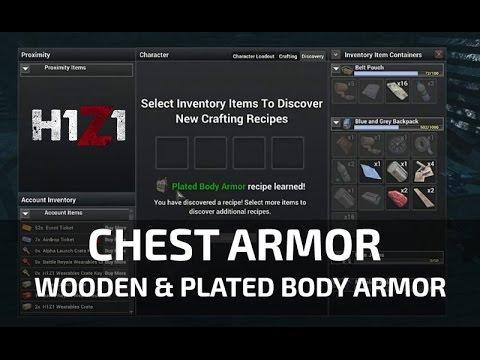 Plate Armor H1z1 H1z1 Chest Armor Nasıl Yapılır