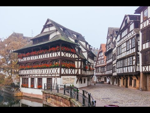 Страсбург-один из САМЫХ КРАСИВЫХ городов Мира .