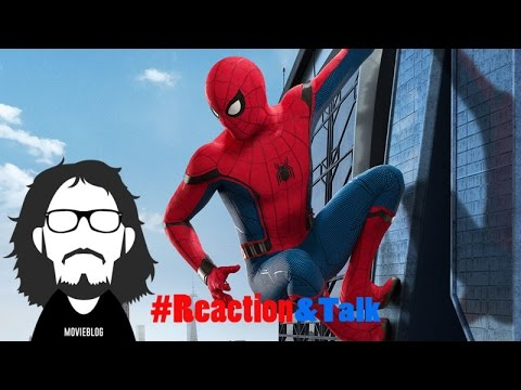 Spider-Man: Homecoming Trailer #2- #Reaction&Talk