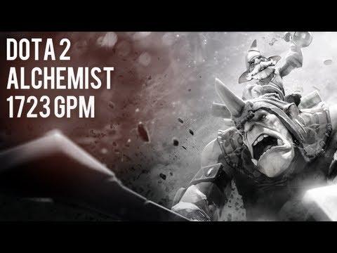 Dota 2 - Alchemist - 1723 GPM
