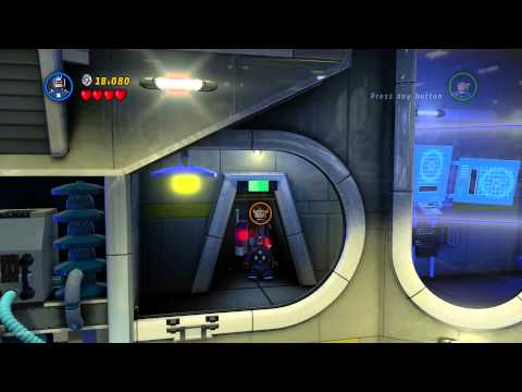 PS4 - Lego: Marvel Super Heroes Gameplay Part 2