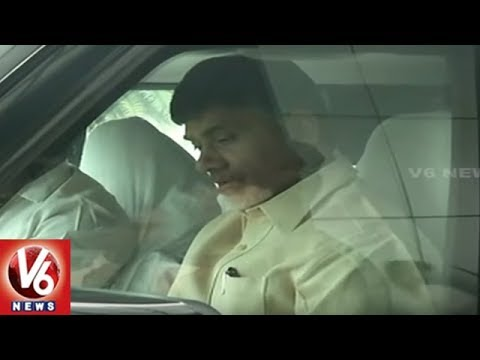 AP CM Chandrababu Naidu To Meet Telangana State TDP Leaders In Hyderabad | V6 News