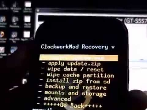 How to install Clockworkmod on Galaxy Mini!