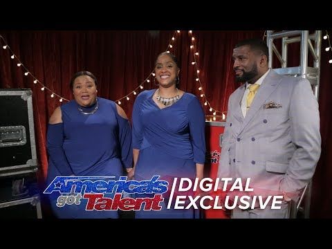 Danell Daymon & Greater Works Open Up Their Hearts About AGT - America's Got Talent 2017