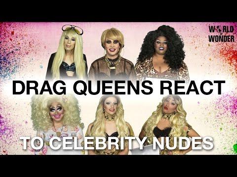 Drag Queens React to Celebrity Nudes: Alaska, Phi Phi, Jaidynn, Trixie, Laganja & Gia thumbnail