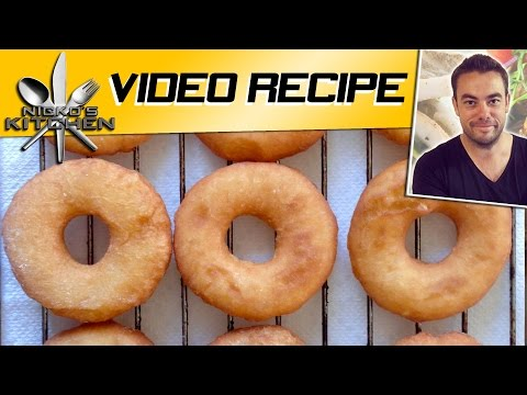HOW TO MAKE FRIED DONUTS