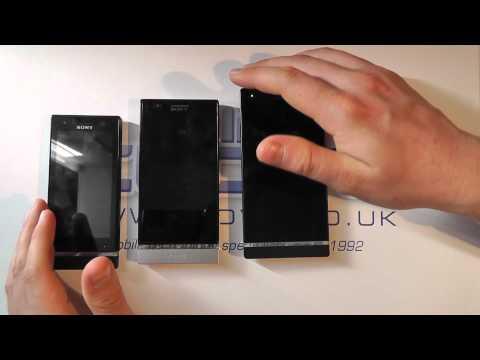 Sony Xperia S v Sony Xperia P v Sony Xperia U (Android Smartphone Comparison)