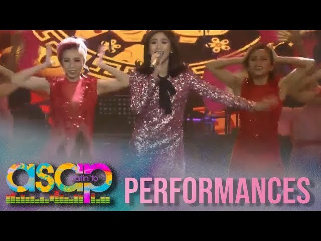 ASAP Natin 'To: Sarah G opens ASAP Natin To's party her rendition of 'I Should Be So Lucky'