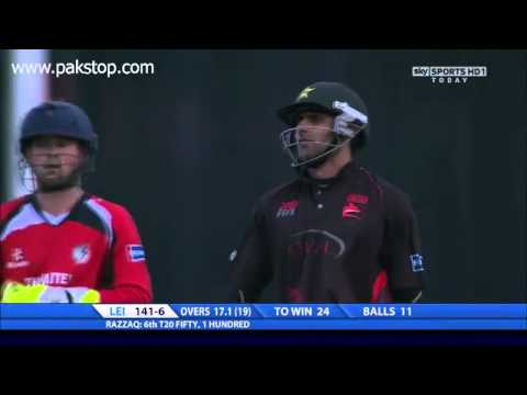 Abdul Razzaq - Match Winning Inning in County Cricket 2011