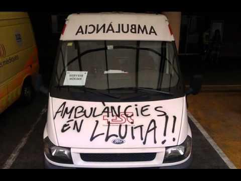 Ambulàncies en lluita trucada a Acea.