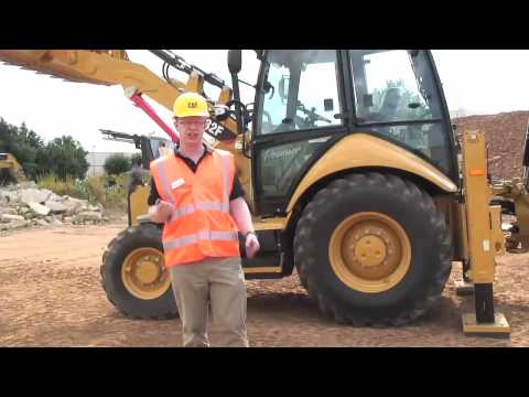 Finning 432F Backhoe Loader Walk Around