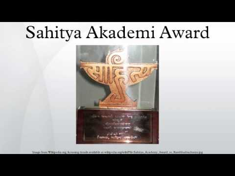 Sahitya Akademi Award Winners For Marathi Sahitya Akademi Award