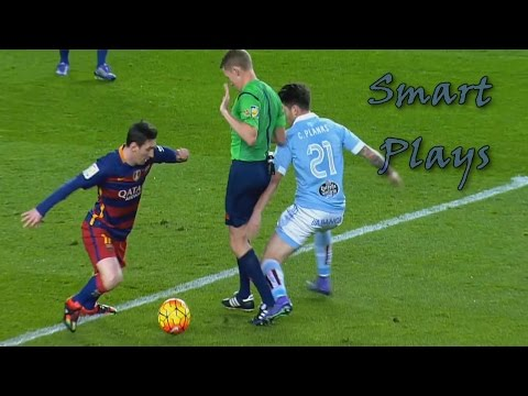Lionel Messi ● Top 10 Smart & Cheeky Plays | HD