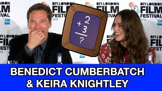 Benedict Cumberbatch & Keira Knightley Reveal How Bad They Are At Math & Crosswords!