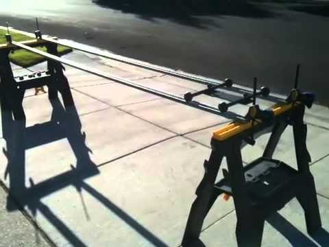 Diy spidertax dolly track