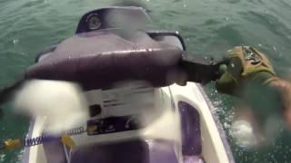 1991 Seadoo Xp in the ocean.