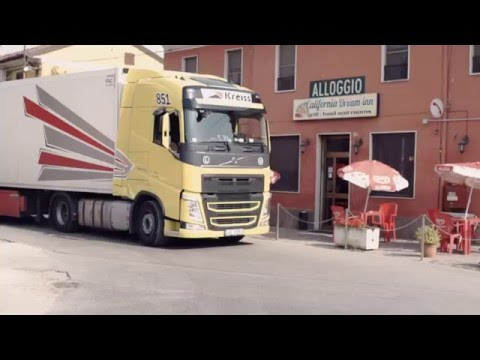 Kreiss.Trucking Diaries. Italy 2015. Part 7 - Италия. Разгрузка