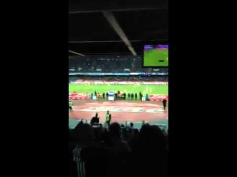 Napoli Milan, la dedica di un tifoso ad Adriano Galliani