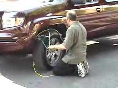 0 RUD Tire Chains Installation   Grip 4x4