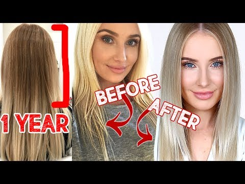 HOW I TRANSFORMED MY HAIR IN 1 YEAR!!   Lauren Curtis