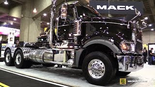 2015 Mack Titan TD716 1686 Truck with Mack MP10 555M Engine - Exterior, Interior Walkaround