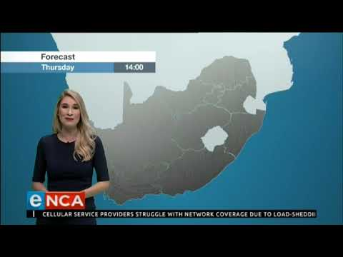 Weather forecast 12 December 2019