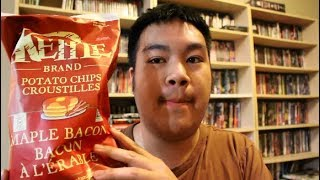 Product Review: Kettle Brand Maple Bacon Chips, Mango Mood Peace Tea, Peanut Butter OMGs