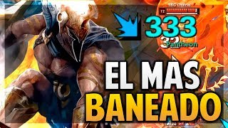 ¡EL CAMPEÓN MAS BANEADO DE LOS WORLDS! | League of Legends