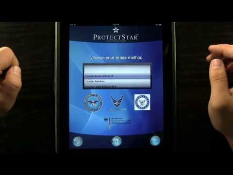 How to secure erase an iPad with ProtectStar iShredder Pro HD - Review by DailyAppShow