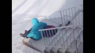 These ice slip ups are hilarious !😂