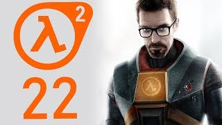 Half-Life 2 playthrough pt22 - A Creepy Graveyard...What Could Go Wrong?