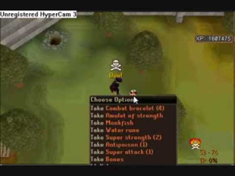 Runescape Pking - SWAGGG ON - Black Pure vid 2 Video