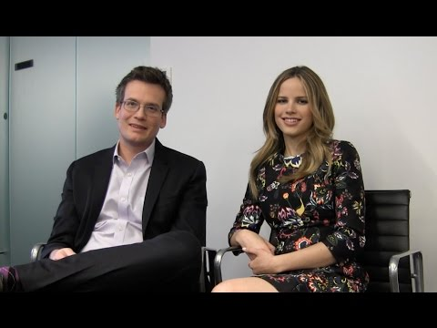 John Green, Halston Sage Talk 'Paper Towns' & 'Looking for Alaska' Movies