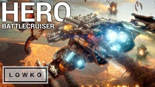 StarCraft 2: THE HERO BATTLECRUISER!