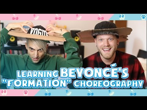 Learning Beyonce's FORMATION choreography!