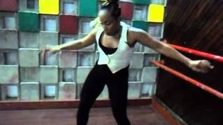 Latonya Style Dancing to Major Lazer - Original Don [Stylish Moves]