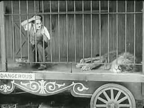 Charlie Chaplin - The Lion's Cage video