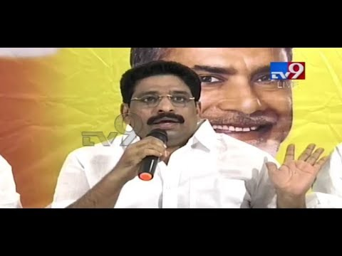 TDP MLC Buddha Venkanna Press Meet || LIVE - TV9